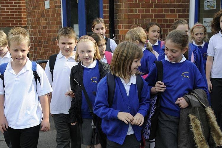 wokingham school children