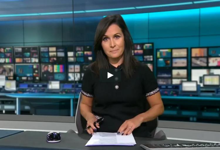 ITV news still of Greenredeem report