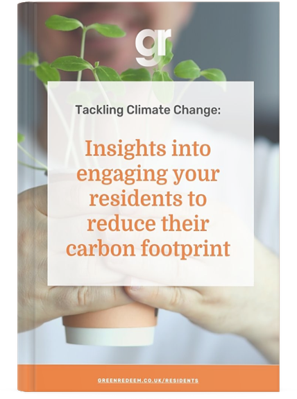 Case Study front cover for insights into engaging your residents to reduce their carbon footprint