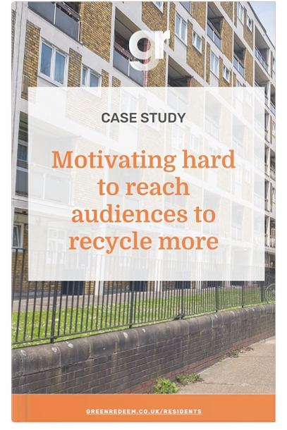 Motivating hard to reach audiences to recycle more